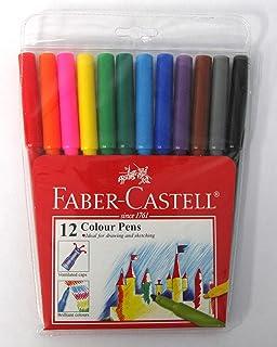 Faber-Castell PL154312 12-Piece Fine Line Water Colour Pen