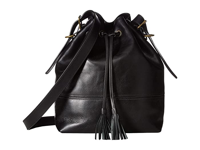 Bosca  Dolce Large Bucket Bag (Black) Handbags