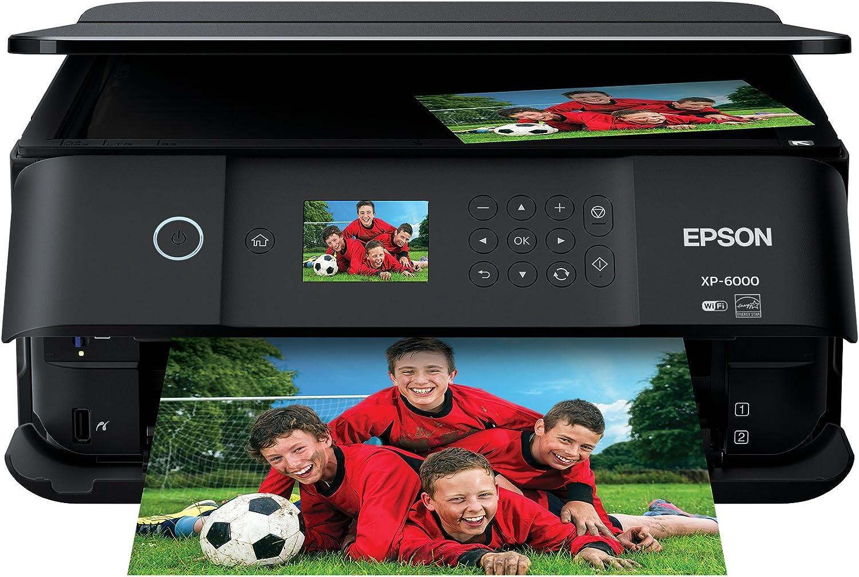 Epson Expression Premium XP-6000 Wireless Color Photo Printer with Scanner & Copier, Amazon Dash Replenishment Ready