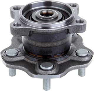 ECCPP Replacement for Pair of 2 New Complete Front Wheel Hub Bearing Assembly 5 Lugs w//ABS for 1997-2005 BMW 513172/¡/Á2