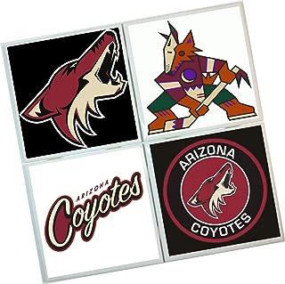 Arizona Yotes Coasters : Set of 4 Tile Coasters : hockey