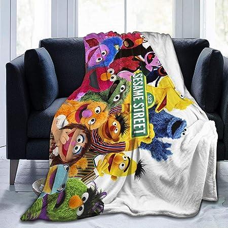 Jay Franco Sesame Street Hip Elmo Plush 46 x 60 Throw