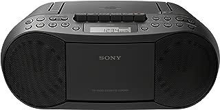 Sony 索尼 CFDS50 50 经典 CD 与磁带扬声器带收音机(MEGA BASS; FM/AM)?–?黑色