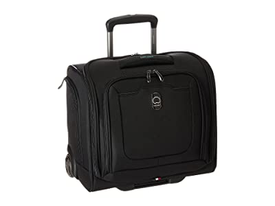 Delsey Hyperglide 2-Wheel Under-Seater (Black) Luggage