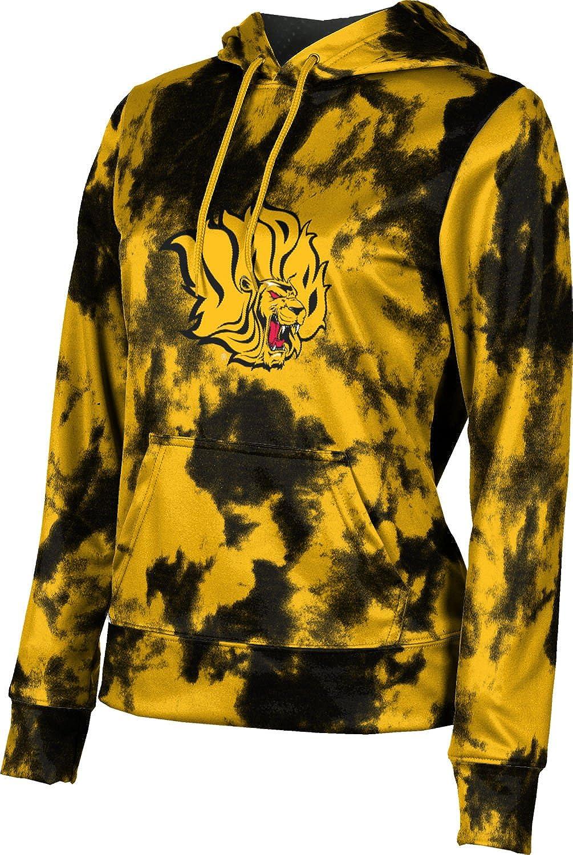 ProSphere University of Arkansas at Pine Bluff Girls' Pullover Hoodie, School Spirit Sweatshirt (Grunge)