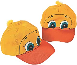 985cc1199a2 Fun Express - Luau Ducky Shaped Baseball Cap for Party - Apparel Accessories  - Hats -