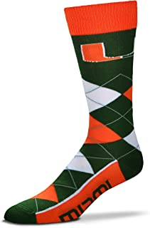 miami hurricanes dress socks