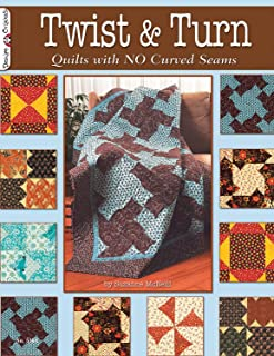 Twist & Turn: Quilts with No Curved Seams (Design Originals)