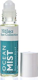 Basic Vigor Ocean Mist Aromatherapy Roll-On, Halsa Essentials Aromatherapy