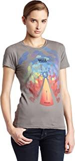 Juniors Muse Bleached Cover T-Shirt