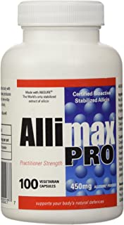 Allimax International Limited Allimax Pro Vegicaps, 450 mg, 100 Count