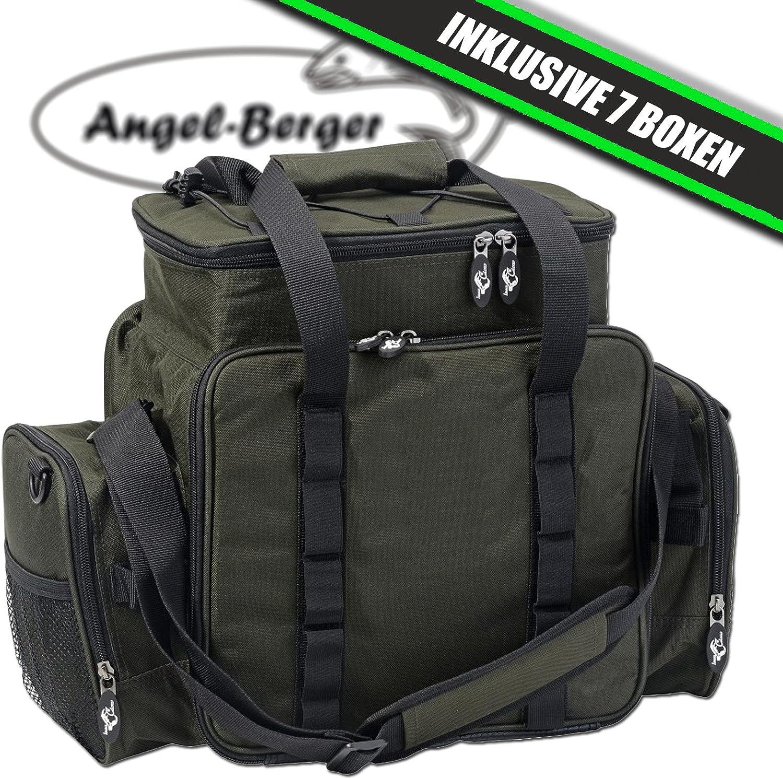 Luxus Angeltasche Angeltasche Angeltasche groß Zubehörtasche Kunstködertasche mit Boxen B000V92AUS  Am wirtschaftlichsten d739cc
