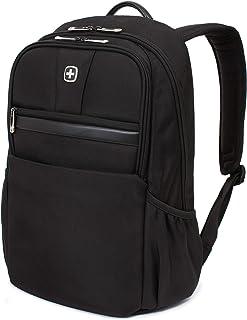 SWISSGEAR Durable 15-inch Laptop Backpack | Padded Computer Sleeve | Travel, Work, School | Men's and Women's - Black