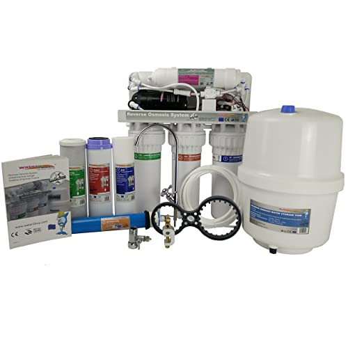 Water2buy Water Filter Reverse Osmosis Unit RO600 - All in One 5-Stage Water Treatment System With Pump