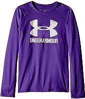 Under Armour Kids - Big Logo Slash Long Sleeve (Big Kids)