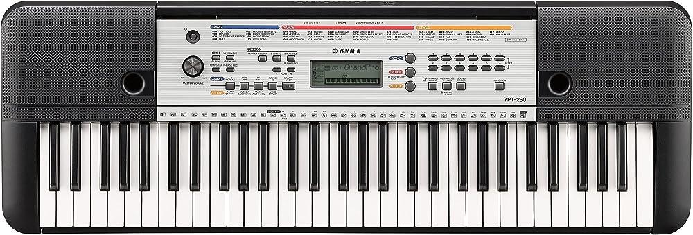 Yamaha tastiera digitale con 61 tasti YPT-260