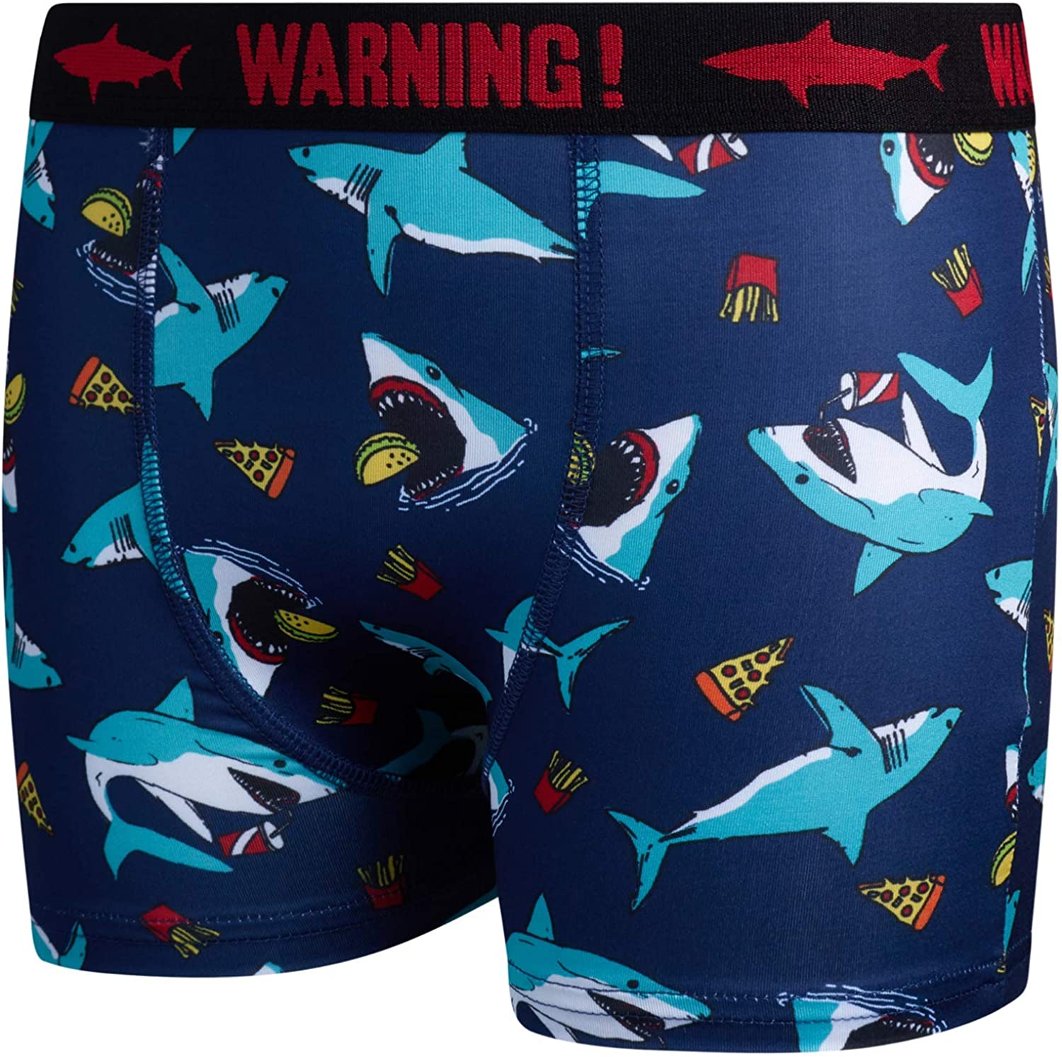 Only Boys Compression Shorts - Boys' Dry Fit Performance Boxer Briefs Active Underwear (6 Pack)