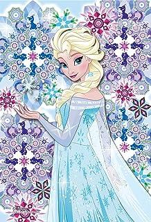 70ピース ジグソーパズル アナと雪の女王 クリスタルタイル―エルサ― 【プリズムアートプチ】(10x14.7cm)