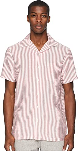 Vacation Seersucker Stripe Shirt