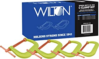 Wilton 11114 Spark-Duty 400CS Hi-Vis C-Clamp Kit