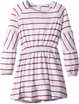 Heather Stripe Dress (Big Kids)