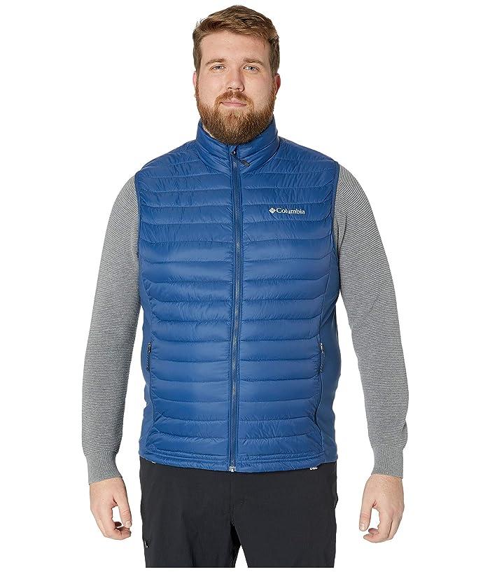 Columbia Big Tall Powder Passtm Vest (Carbon) Men