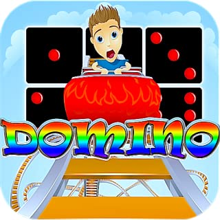 Rollercoaster Dominoes Free Crazy Park Coaster Strategy Free Dominoes game for Kindle Offline Dominoes Free Multi Tile Tap No Wifi doesn't need internet best dominoes