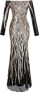 Angel-fashions Da Donna Una Spalla Perline Increspato Trasparente Abito da Cocktail