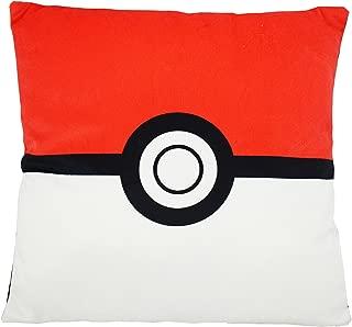 Seaich Pokemon Throw Pillows, Plush 13 inch Pillows, Pikachu, Pokeball, Master Pokeball (Pokeball Square)
