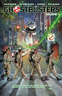 NewBrightBase Ghostbusters Vintage Movie Fabric Cloth Rolled Wall Poster Print - Size: (20