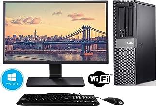 Dell Optiplex 980 Desktop PC with 20 Inch Monitor - Intel Core i5-650 3.2GHz 8GB 250GB DVD Windows 10 Professional (Renewed)