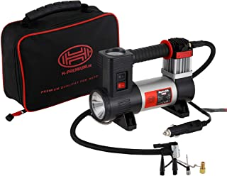 Professioneller 12 V Kompressor, belastbar, 40 l, mit LED Taschenlampe
