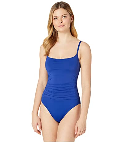 La Blanca Island Goddess Lingerie Mio One-Piece (Blueberry) Women