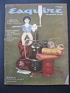 ESQUIRE The Magazine For Men February, 1959