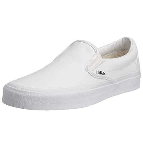 b463b5b607 White Leather Vans: Amazon.com