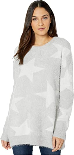 Fuzzy Star Knit