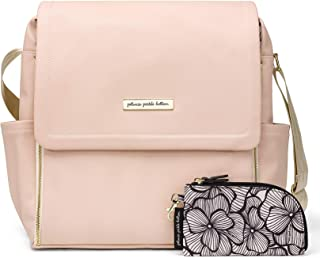 Petunia Pickle Bottom BBML-596-00 Boxy Backpack, Blush Leatherette