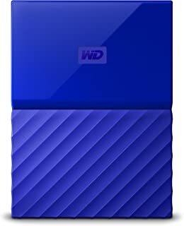 WD 2TB Blue My Passport Portable Hard Drive - USB3.0 - WDBYFT0020BBL-WESN