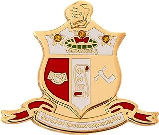 Desert Cactus Kappa Alpha Psi Fraternity Crest Lapel Pin Enamel with Jewels Greek Formal Wear Blazer Jacket Nupe (Jewel Crest Pin)