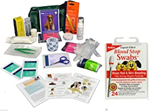 Warwick Comprehensive Pet First Aid kit includes Blood Stop Swobs