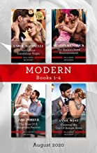 Modern Box Set 1-4 Aug 2020/Italy's Most Scandalous Virgin/The Sheikh's Royal Announcement/The Price of a Dangerous Passio...