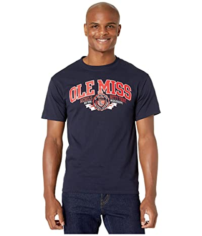 Champion College Ole Miss Rebels Jersey Tee (Navy 3) Men