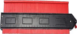 Contour Gauge with Lock,Plastic Profile Gauge Shape Copying Measure Tool,10-Inch,Adjustable Lock,Precisely Copy Irregular ...