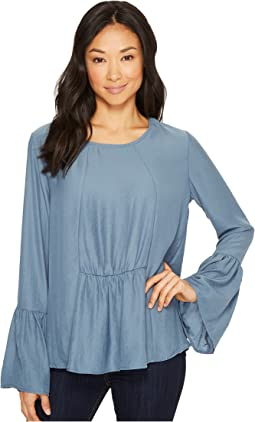 Lee Flare Sleeve Blouse