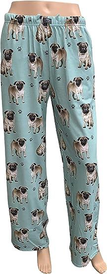 13. Women's Pug Dog Lounge Pants - Pajama Bottoms