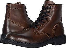 Dark Brown Pull Up Grain Leather