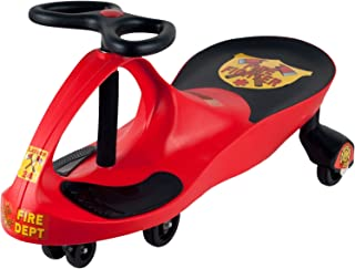 Ride on Toy, Fire Truck Ride on Wiggle Car by Lil' Rider - Ride on Toys for Boys and Girls, 2 Year Old And Up - Fire Red