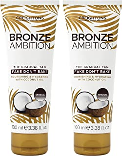 Creightons Bronze Ambition Fake Don't Bake Natural Looking Tanning Cream by Creightons