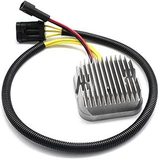 Line length 18in Voltage Regulator Rectifier For Polaris RZR 900 2013-2016/1000 2016 Mosfet Voltage Regulator Performance Upgrade Kit 2013-2016 - STAGE 1 - OEM Repl.# 4013978 4015816