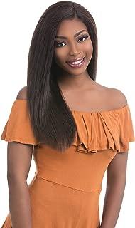 Sensationnel Bare&Natural Brazilian Virgin Remi Unprocessed 100% Human Hair Swiss Lace Wig - STRAIGHT 22 (N)
